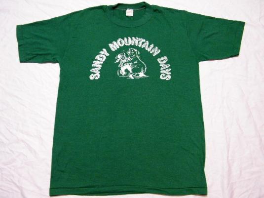 Vintage 80's Sandy Oregon Montain Days T-Shirt