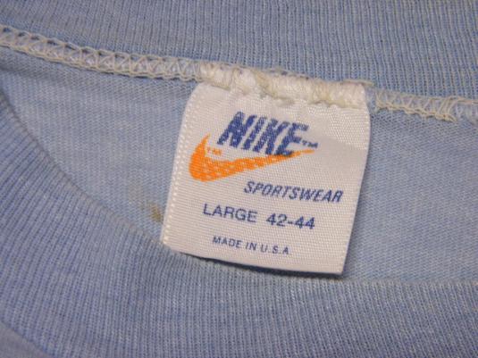 Vintage Nike 1982 Cascade Run Off Race T-Shirt Orange Tag