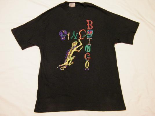 Vintage 1985 OINGO BOINGO Dead Man's Party Punk Tour T-Shirt