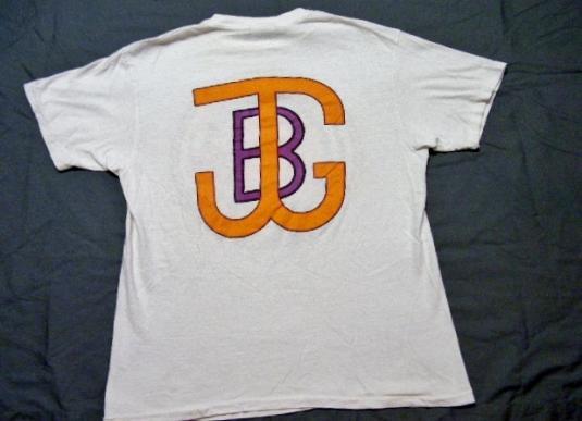 Vintage 1986 Jerry Garcia Band Halloween Concert T-Shirt