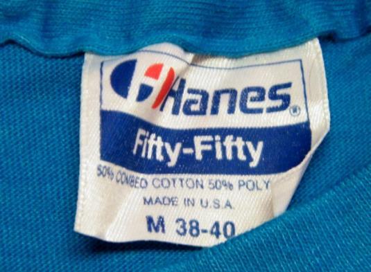 Vintage 80's Funny Skiing Ski T-Shirt