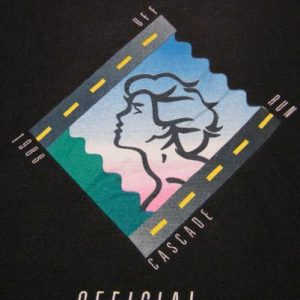 Vintage Nike 1988 Cascade Run Off OFFICIAL Race T-Shirt
