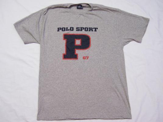 Vintage 1990's Ralph Lauren Polo Sport P 67 T-Shirt