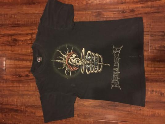 Megadeth Youthanasia Tour Tee
