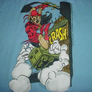 Vintage Elektra T-Shirt Daredevil Marvel 1987 M