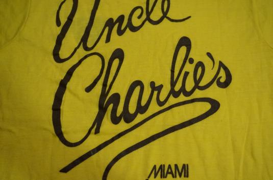 Vintage UNCLE CHARLIE'S MAIMI Night Gay Club T-Shirt S