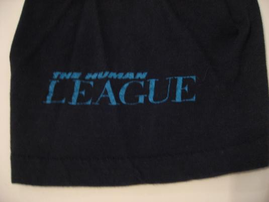 Vintage The Human League T-Shirt DARE! S