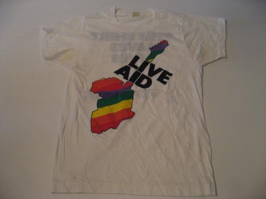 Vintage Live Aid 1985 T-Shirt S
