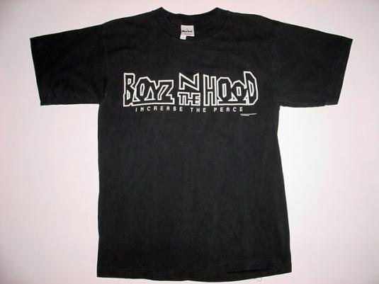 Vintage Boyz N The Hood T-Shirt boys in Ice Cube 1991 M/S