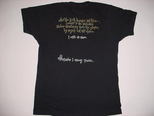 Vintage Metallica T-Shirt PuSHead I May Roam X