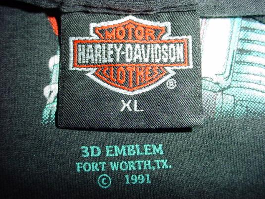 Vintage Harley Davidson Sturgis T-Shirt 3D Emblem XL