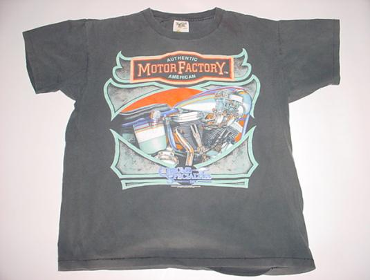 Vintage Authentic Motor Factory American Chrome L