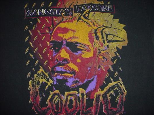 Vintage Coolio Gangsta's Paradise T-Shirt L