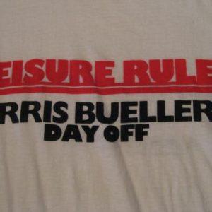 Vintage Ferris Bueller's Day Off Leisure Rules T-Shirt M/L