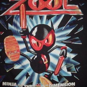 Vintage Zool Ninja of the Ninth Dimension T-Shirt Amiga L