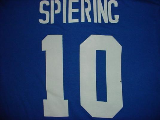 Vintage L.A. Dodgers Los Angeles T-Shirt #10 Spiering M/S