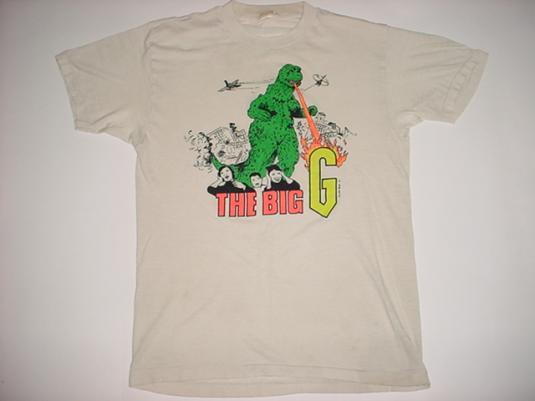 The Godzilla The Big G T-Shirt 1984 M