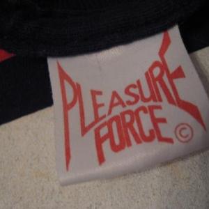 Vintage Pleasure Force T-Shirt Rave Evolution Energy Fila L