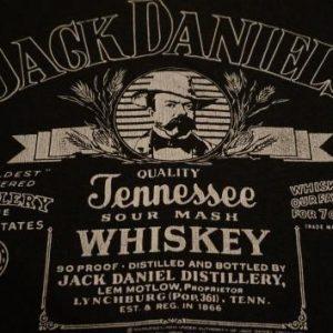 Vintage Jack Daniels T-Shirt Whiskey L/XL