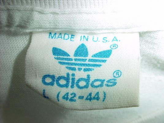 Vintage RUN DMC My Adidas 1980s T-Shirt M/L