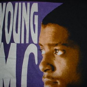 Vintage Young MC T-Shirt Stone Cold Rhymin' 1990 M