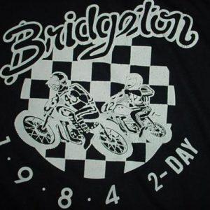 Vintage Bridgeton Motocross 2-Day 1984 T-Shirt M/S