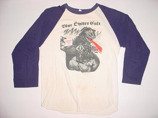 Vintage Blue Oyster Cult T-Shirt Monster Tour 1978 S/M