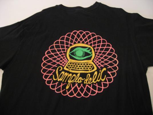 Vintage Deee-Lite T-Shirt World Clique DJ Dmitry L