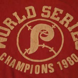 Vintage Philadelphia Phillies World Series Champions T-Shirt