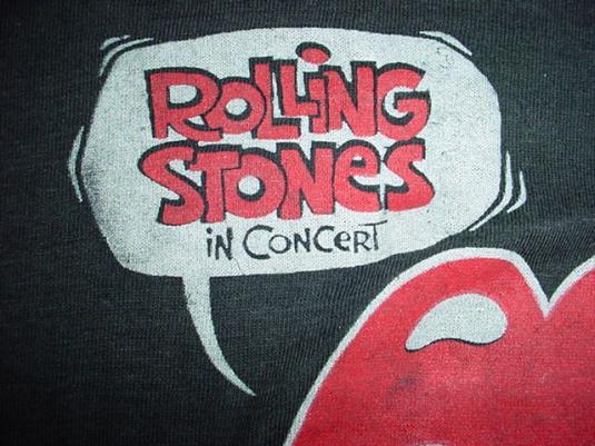 Vintage Rolling Stones US. Tour T-Shirt 1978 M