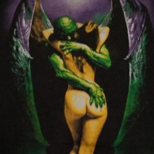 Vintage BORIS VALLEJO Fantasy Body Graphics T-Shirt L