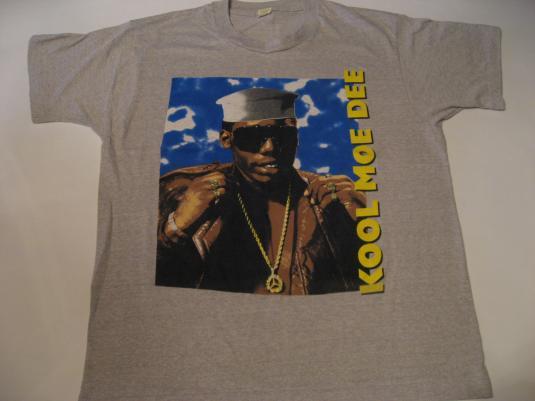 Vintage Kool Moe Dee T-Shirt 1980s L/M