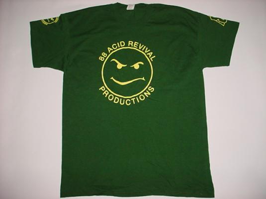 Vintage Altern 8 Acid Revival Productions Altern8 T-Shirt XL