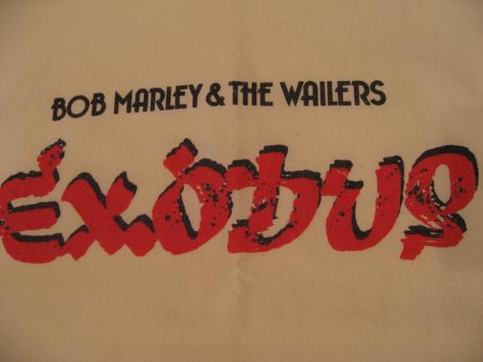 Vintage Bob Marley & The Wailers Exodus Island Shirt S