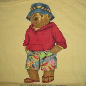 Vintage Polo Bear T-Shirt Ralph Lauren M