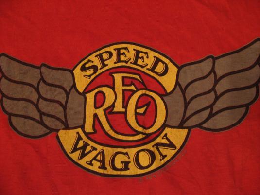 Vintage REO Speed Wagon T-Shirt S