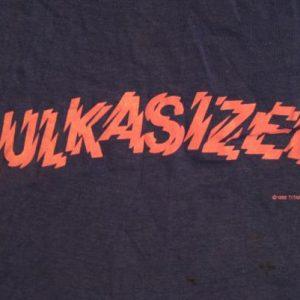 Vintage Hulk Hogan Hulkasized T-Shirt WWF Titan Sports S