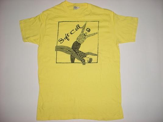 Vintage Soft Cell T-Shirt Marc Almond 1980s M/L
