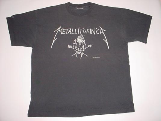 Vintage Metallica T-Shirt Metallican Limited Edition Roam XL