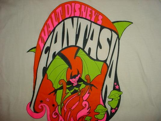 Vintage Fantasia T-Shirt Walt Disney M