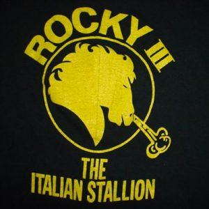 Vintage Rocky III T-Shirt 3 Italian Stallion Wheaties L/M