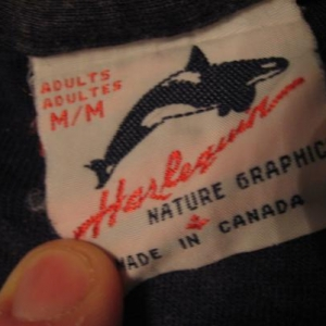 Vintage Wolf Wolves Nature Scene T-Shirt M/S