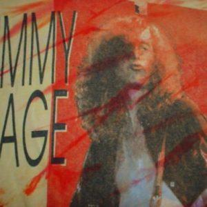 Vintage Jimmy Page T-Shirt Tie Dye Led Zeppelin M/L