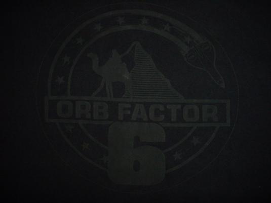 Vintage The Orb T-Shirt Orb Factor 6 Jimmy Cauty KLF XL