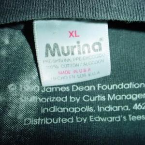 Vintage James Dean Rebel T-Shirt All-Over Print XL