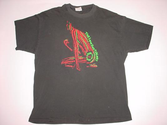 Vintage Tribe Called Quest T-Shirt The Low End Theory XL