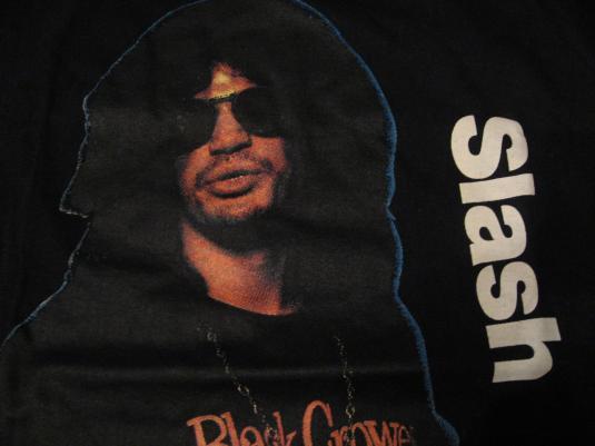 Vintage Slash Guns N Roses Black Crowes T-Shirt 1990s S