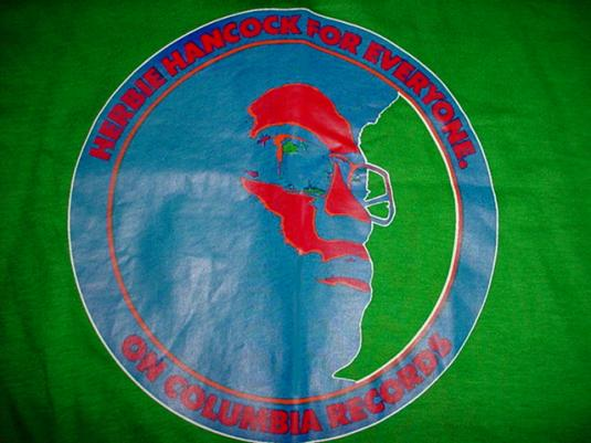 Vintage Herbie Hancock T-Shirt For Everyone Columbia M