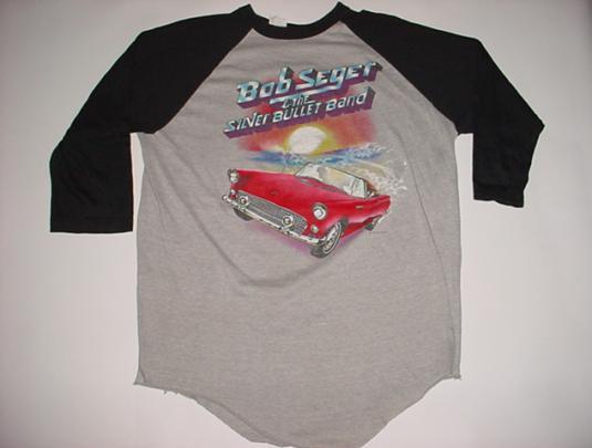 Vintage Bob Seger The Distance T-Shirt Jersey L/M