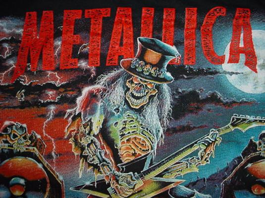 Vintage Metallica T-Shirt European Tour 1996 L